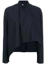 Marni | асимметричная блузка с высоким воротником Marni | Clouty