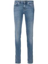GIVENCHY | облегающие джинсы с рисунком из звезд Givenchy | Clouty