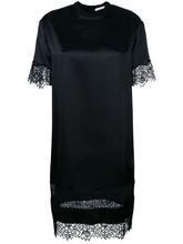 GIVENCHY | платье-футболка с кружевной отделкой Givenchy | Clouty