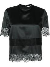 GIVENCHY | блузка с кружевной вышивкой Givenchy | Clouty