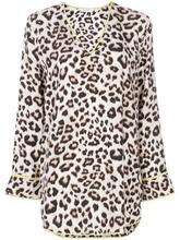 Equipment   блузка с леопардовым принтом  Equipment   Clouty