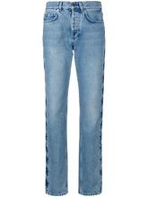 GIVENCHY | джинсы свободного кроя со звездами Givenchy | Clouty
