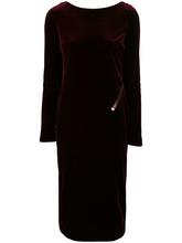 Tom Ford | бархатное платье-миди Tom Ford | Clouty