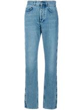 GIVENCHY | длинные джинсы со звездами Givenchy | Clouty