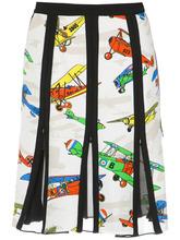 Reinaldo Lourenco | airplane print skirt Reinaldo Lourenco | Clouty