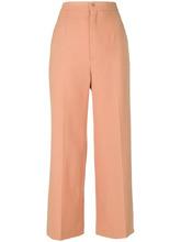 Chloé   эластичные шерстяные брюки Chloe   Clouty