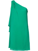 Badgley Mischka   платье с драпировкой без рукавов Badgley Mischka   Clouty