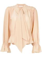 Chloé | блузка с драпировками | Clouty