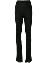 GIVENCHY   расклешенные брюки с ребристой фактурой Givenchy   Clouty