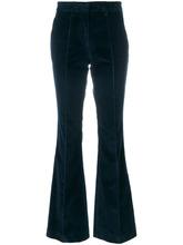 Etro | бархатные брюки клеш  Etro | Clouty