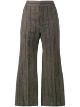 Isabel Marant   укороченные расклешенные брюки 'Keroan' Isabel Marant   Clouty