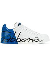 Dolce & Gabbana | кроссовки с принтом логотипа Dolce & Gabbana | Clouty