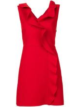MSGM   платье без рукавов с оборками  MSGM   Clouty
