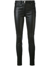 GIVENCHY | облегающие брюки из кожи Givenchy | Clouty