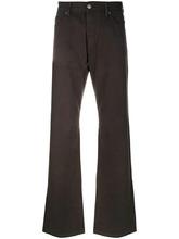 Armani Jeans   расклешенные джинсы свободного кроя   Clouty
