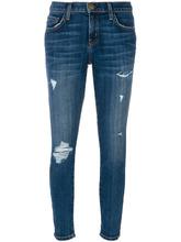 Current/Elliott   джинсы скинни с порванными деталями Current/Elliott   Clouty