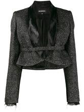 Ann Demeulemeester | укороченный пиджак с блестками Ann Demeulemeester | Clouty