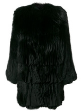 GIVENCHY | лисья шуба с плиссировкой Givenchy | Clouty