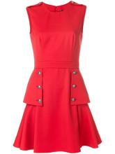 Alexander McQueen | платье с пуговицами с тиснением Alexander McQueen | Clouty