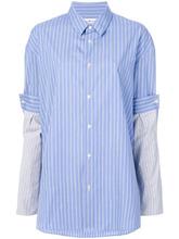 Maison Margiela | рубашка с контрастными рукавами Maison Margiela | Clouty