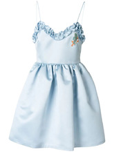 Vivetta   платье мини с оборкой  Vivetta   Clouty