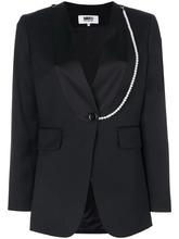 MM6 Maison Margiela | пиджак с контрастной окантовкой Mm6 Maison Margiela | Clouty