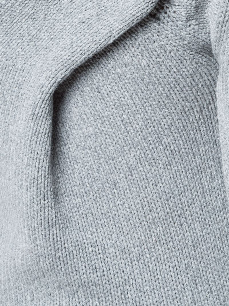 Derek Lam 10 Crosby | Серый свитер с отделкой на спине Derek Lam 10 Crosby | Clouty