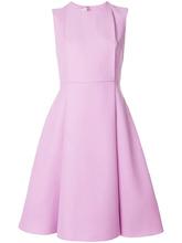VALENTINO | расклешенное платье с панельным дизайном Valentino | Clouty