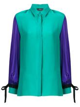 Capucci | рубашка с контрастной отделкой Capucci | Clouty
