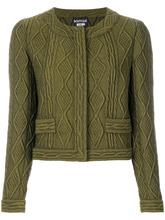 Boutique Moschino   укороченный пиджак с узором 'косы' Boutique Moschino   Clouty