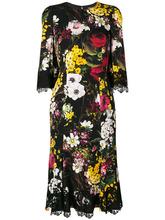 Dolce & Gabbana | платье с цветочным принтом Dolce & Gabbana | Clouty