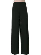 VALENTINO | брюки-палаццо с полосками по бокам  Valentino | Clouty