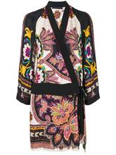 Etro | платье с запахом и цветочным принтом  Etro | Clouty