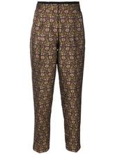 Etro | зауженные брюки с цветочным принтом  Etro | Clouty