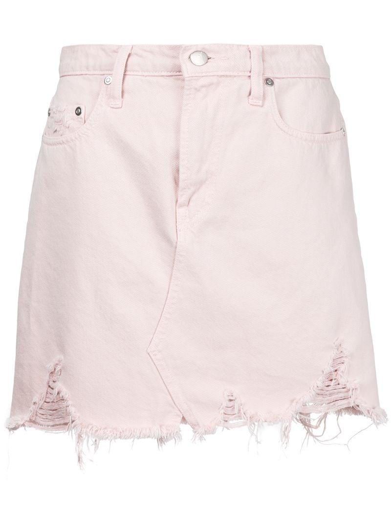 Nobody Denim | Розовый и фиолетовый юбка 'Piper' Nobody Denim | Clouty