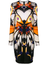 GIVENCHY | платье с симметричным рисунком Givenchy | Clouty