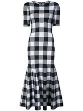 Oscar De La Renta | платье в клетку  Oscar de la Renta | Clouty