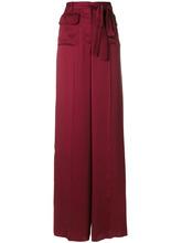 VALENTINO | брюки-палаццо с завязкой на талии Valentino | Clouty