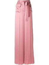 VALENTINO | брюки-палаццо с поясом Valentino | Clouty