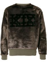 KTZ | толстовка из искусственного меха с логотипом | Clouty