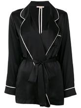 Gold Hawk   пижамный пиджак с контрастной окантовкой Gold Hawk   Clouty