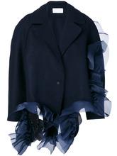 Roberts Wood   асимметричный пиджак с оборками  Roberts Wood   Clouty
