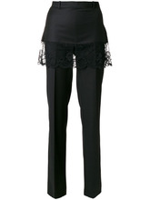 GIVENCHY | классические брюки с кружевной юбкой Givenchy | Clouty