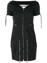 MOSCHINO | платье на молнии со шнуровкой Moschino | Clouty