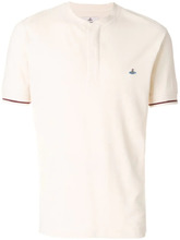 Vivienne Westwood   футболка-поло с вышитым логотипом   Clouty
