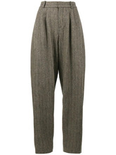Chloé | объемные брюки со складками спереди Chloe | Clouty