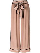 Gold Hawk | широкие брюки с завязкой  Gold Hawk | Clouty