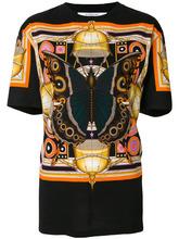 GIVENCHY | свободная футболка с принтом бабочек  Givenchy | Clouty