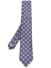 Canali | жаккардовый галстук с цветочным узором Canali | Clouty