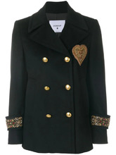 Dondup | двубортный пиджак милитари  Dondup | Clouty